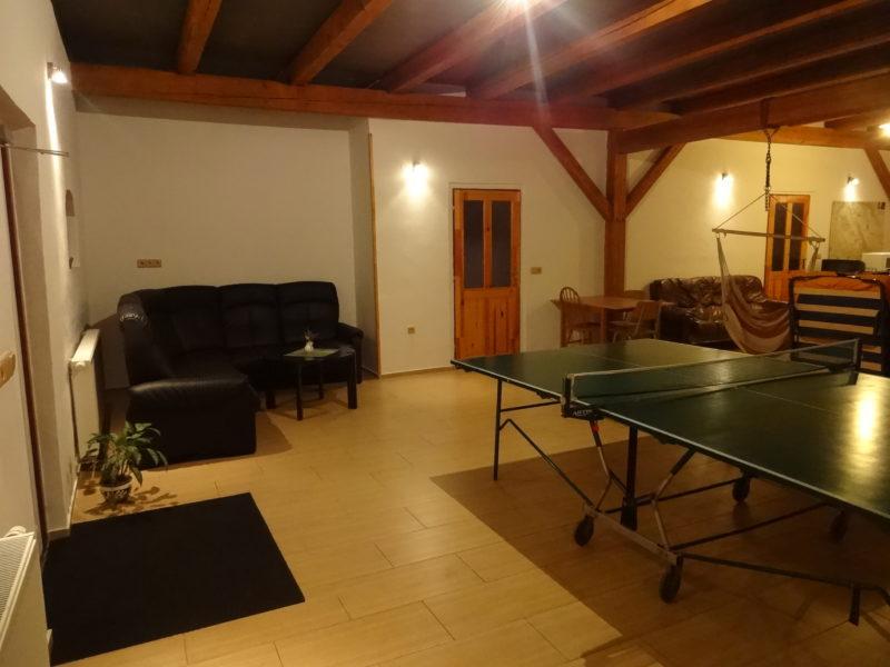 Plochu možno využít jako hernu, ložnici nebo druhou společenskou místnost.
