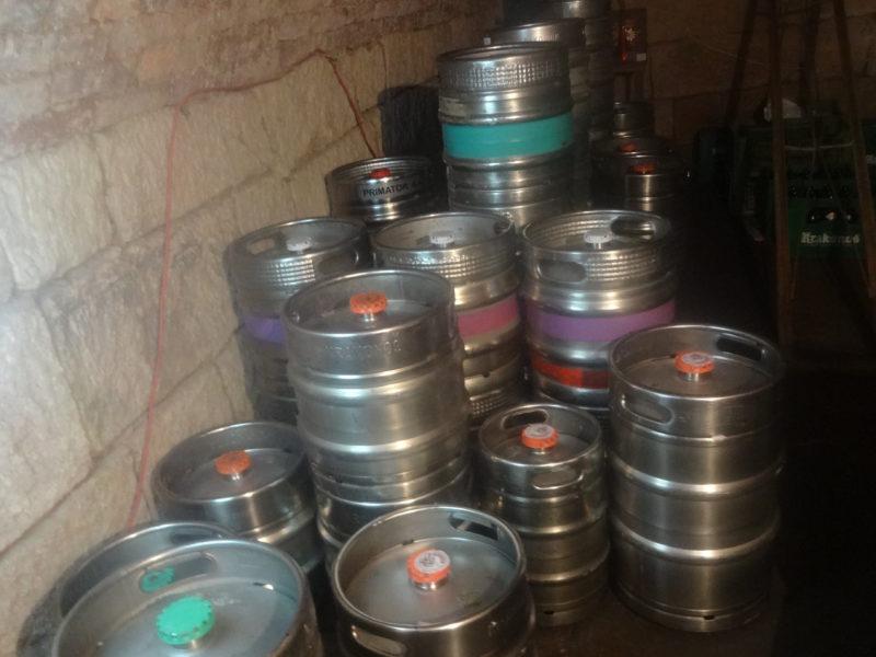 Na akce máme dostatečnou rezervu piva.