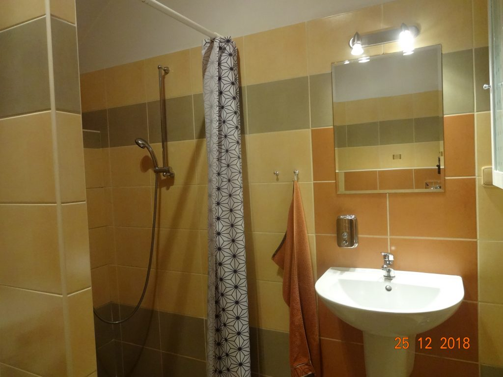 Koupelna dolní apartmán